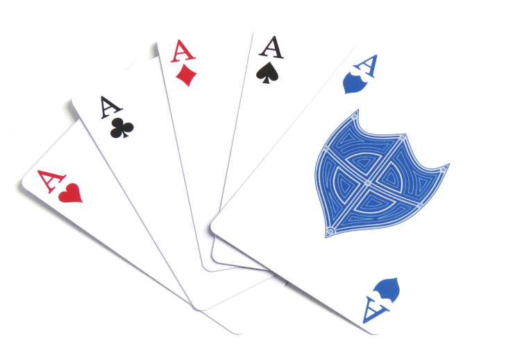 Deck of Shields Aces