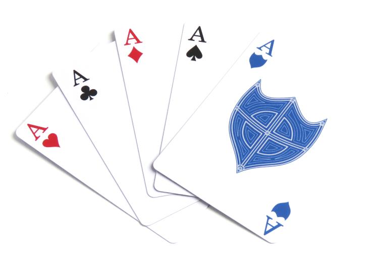 Deck of Shields Aces